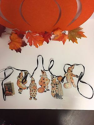 Bethany Lowe Halloween Children Dummy Board Garland ( RL6582)