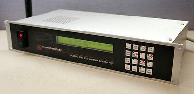 Research Concepts Inc RC2000A Dual Axis Antenna Controller RC2000 New FP#RC2KA-3