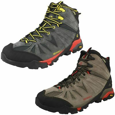 76535c3be41 MENS MERRELL CAPRA Mid Gore-Tex Lace Up Leather Walking Hiking Boots Size