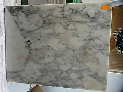 Vinatge Marble for  Antique French side table  19'' x 15'' Top Marble Piece