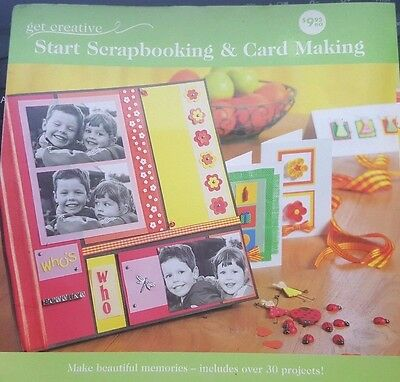 Get Creative ~ Start Scrapbooking and Card Making Book 9781920954109