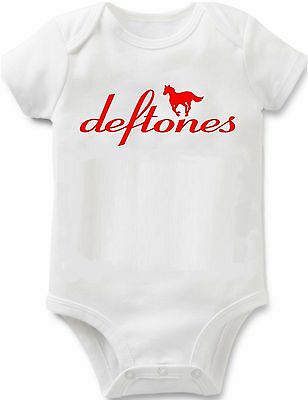RED the deftones baby infant bodysuit t-shirt one piece newborn concert unisex