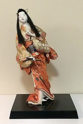 Vintage Collectable Japanese Doll Handmade Circa 1960's EXCELLENT CONDITION