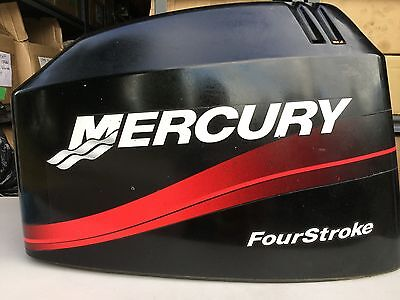2001 Mercury 50hp 60hp Top cowl engine cover TOP COWLING 825239T 3