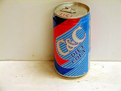 C & C Diet Cola; C & C Cola; Hayward, CA; Soda pop can