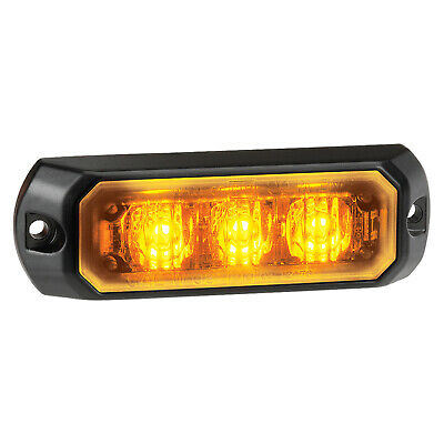 Narva 85203 12/24V 86mm LED Warning Light w/ Multiple Flash Patterns & Colours