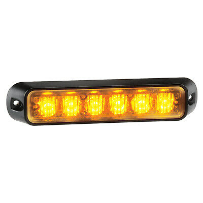 Narva 85206 12/24V 133mm LED Warning Light w/ Multiple Flash Patterns & Colours