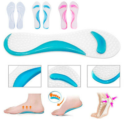 Silicone Gel Foot Protector Cushion Feet Care Shoe Insert Pad Insole Foot