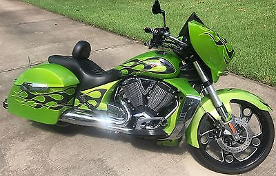 2013 Victory Cross Country  2013 Arlen Ness Flames Victory Cross Country Cruiser
