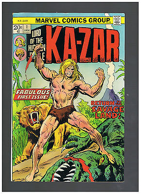 1974 KA-ZAR MARVEL GROUP Vol 1 No 1 ALL COLOUR