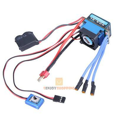 Racing 60A ESC Brushless Electric Speed Controller for 1:10 RC Car Truck