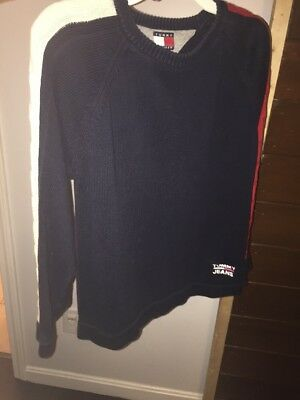 Boy's Sweater Tommy Hilfiger Size Small Navy Blue