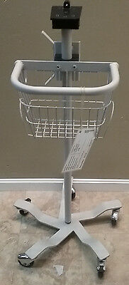 Welch Allyn Vital Signs Monitor Rolling Stand/Cart 300 5300 53 NT0 BP SPO2 NIBP