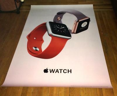 APPLE watch 4X6 6FT VINYL BUS SHELTER promo POSTER #3