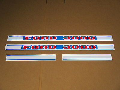 Hood Decal Set For Ford Decals 3000