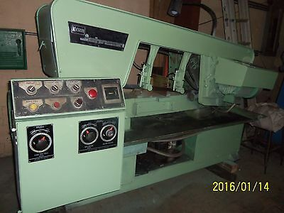 "Kysor Johnson   Horzontal.Band Saw   model #A-12    12"" x 12""cap."