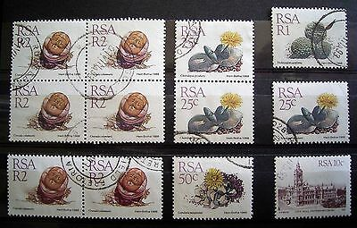RSA Used Stamps As Photographed