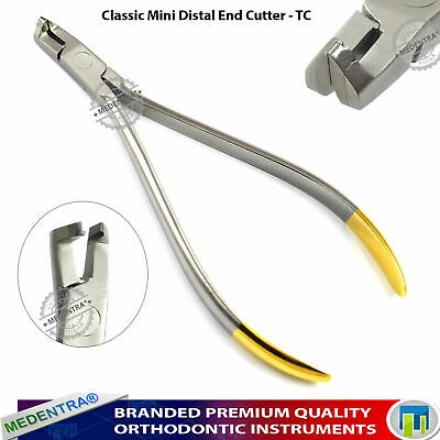 Premium Mini Distal End Ligature Pin and ArchWire Cutter Cut and Hold Ortho TC