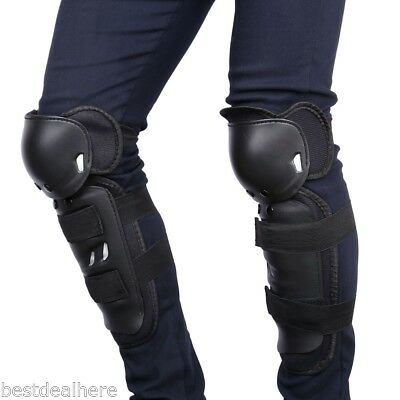 Pair of SALETU Motorcycle Riding Knee Protector Motocross Racing Guards Protecti