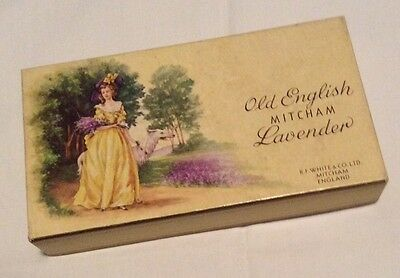 Collectable Box (Vintage )Old English MITCHAM Lavender