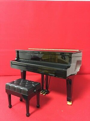 USED Genuine SEGA TOYS Black Grand Pianist Automatic perfor 1/6 scale  F/S Japan