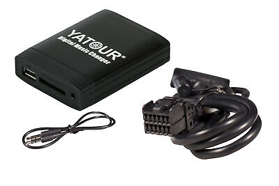Yatour USB SD AUX Adapter + Bluetooth Ford 6000CD RDS / EON, 5000RDS uvm.
