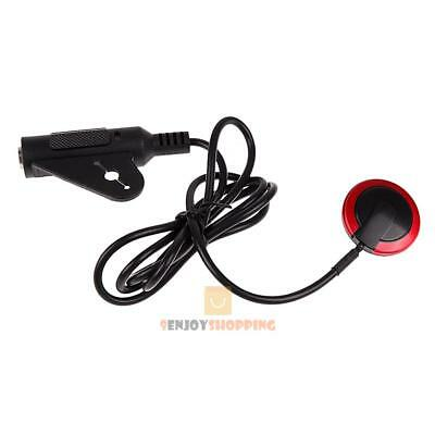 Acoustic Piezo Contact Microphone Pickup For Guitar Violin Banjo Mandolin New