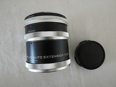 Cfe Triplus Auto Extension Tube 3 X 12, 20, 36Mm Canon Camera Lens  More Listed