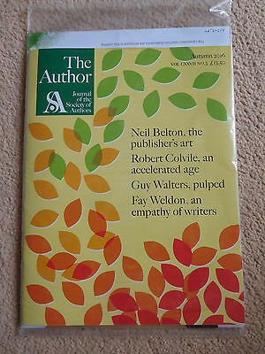 The Author - Journal of the Society of Authors - Autumn 2016 - RRP 12GBP.