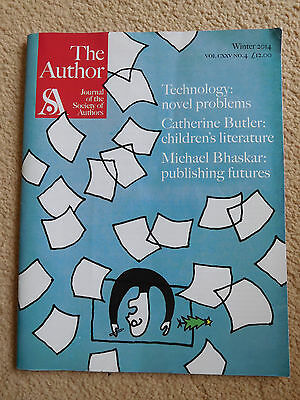 The Author - Journal of the Society of Authors - Winter 2014 - RRP 12GBP.