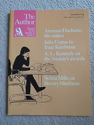 The Author - Journal of the Society of Authors - Autumn 2014 - RRP 12GBP.