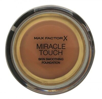 Max Factor Miracle Touch Skin Smoothing Foundation  Per Lei. Nuovo