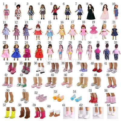 "Stylish Clothes Complete Look for 18"" American Girl Our Generation My Life Dolls"