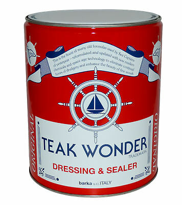 Teak Wonder Oil Lt 4 Dressing Sealer Couleur Naturelle #467COL507