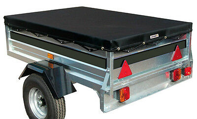 Sumex Cover+ Black Waterproof & Breathable Protection Trailer Cover -180x120x8cm