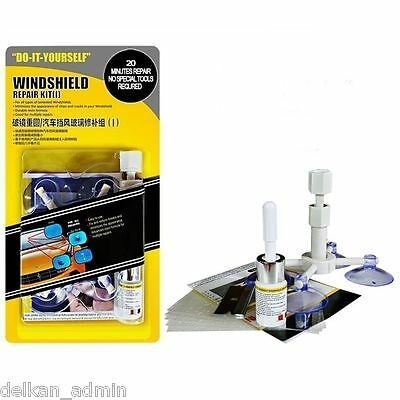Premium Car Crack Windscreen Repair Kit DIY Chip Windshield Glass Wind Screen