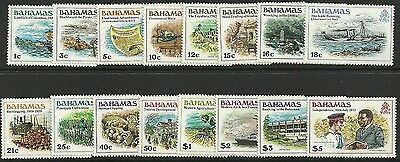 Bahamas Sg557/72 1980 Definitive Set Mnh