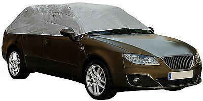 Sumex Waterproof & Breathable Weather Frost Protection Car Half Top Cover -Small