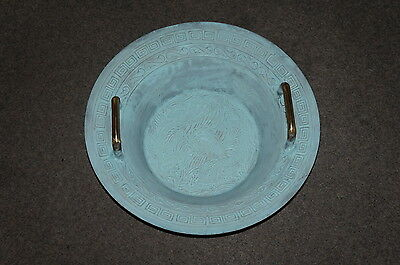 large water spring bowl , Chinese fish pool / lucky pool  patinized  15in