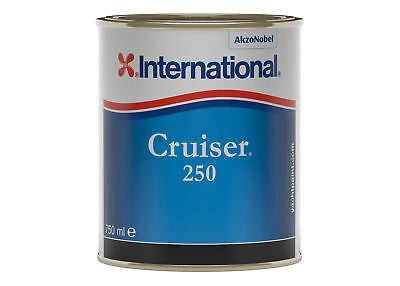 International Cruiser Uno EU Antifouling 0,75 Lt Bleu YBB803 #458COL1010