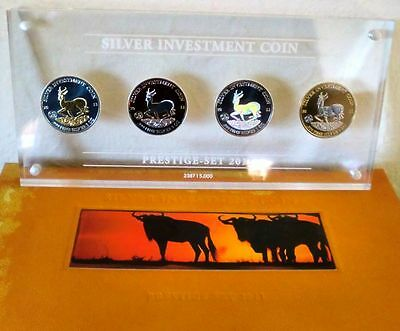 Malawi 2011 Silver Investment Coin Prestige Set Springbock Silber - Box defekt!