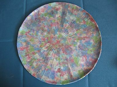 Monet Inspired  Large Paper Clay Casted Platter