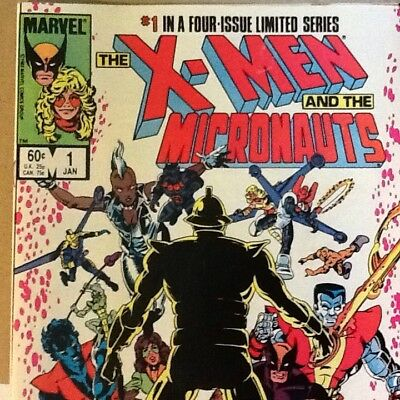 X-Men And The Micronauts  ( Marvel Limited Series Issues 1,4) 1984