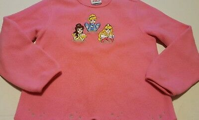 Disney Princess girls size small 6/6x Pink Long Sleeve Shirt - CUTE!