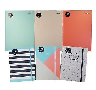 A5/A6 2017/2018 Academic Diary Student Homework Planner Organiser Mid Year 17/18