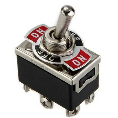 High Quality Heavy Duty Toggle Flick Switch ON/OFF Car Dash Light Metal SPST 12V