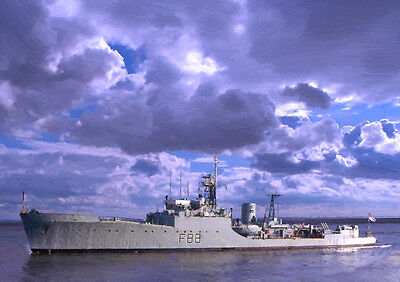 Hms Malcolm - Hand Finished, Limited Edition (25)