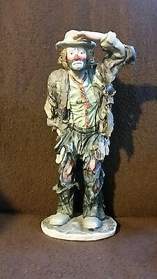 Emmett Kelly Jr 'looking Out To See' Limited Edition Clown Figurine #1671