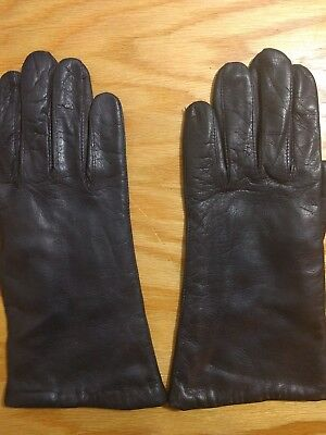 Women's Italian Soft Leather  Driving Gloves Size 7
