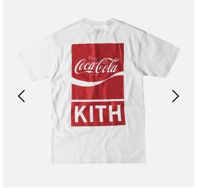 Kith x Coca Cola The Real Thing Tee White Large